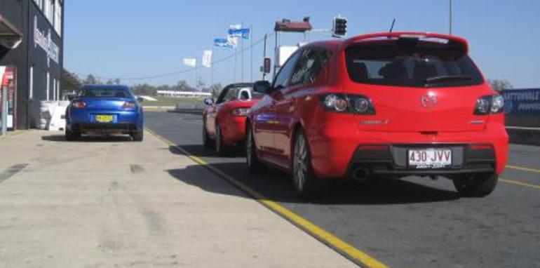 Mazda Driver Training Day