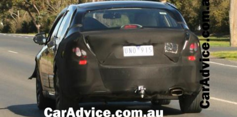 2008 Ford Falcon Orion Spied