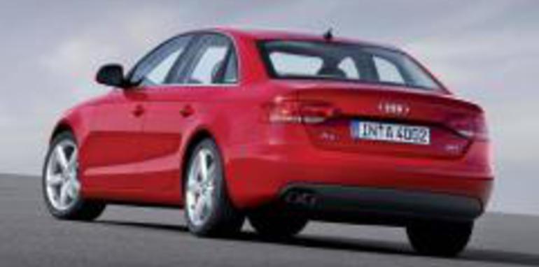 2008 Audi A4 Rear