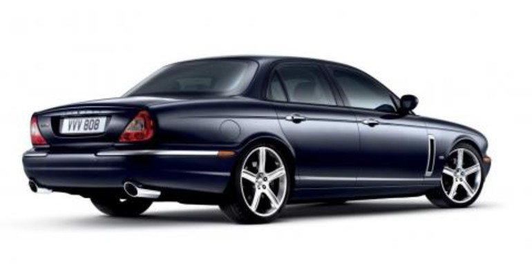 New Jaguar XJR Portfolio Rear