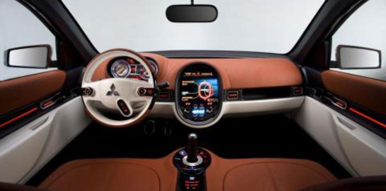 Mitsubishi Concept-cX Interior
