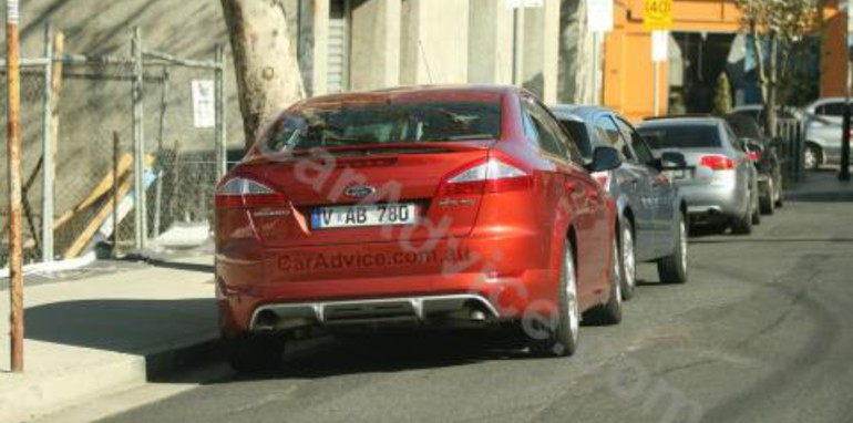 Ford Mondeo XR5 Turbo Rear