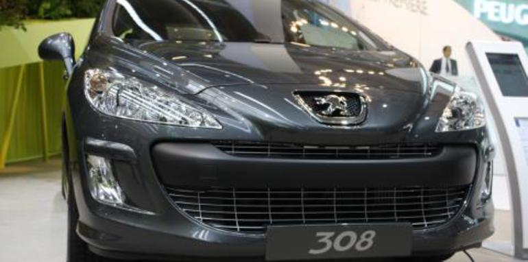 Peugeot 308 Frankfurt Motor Show