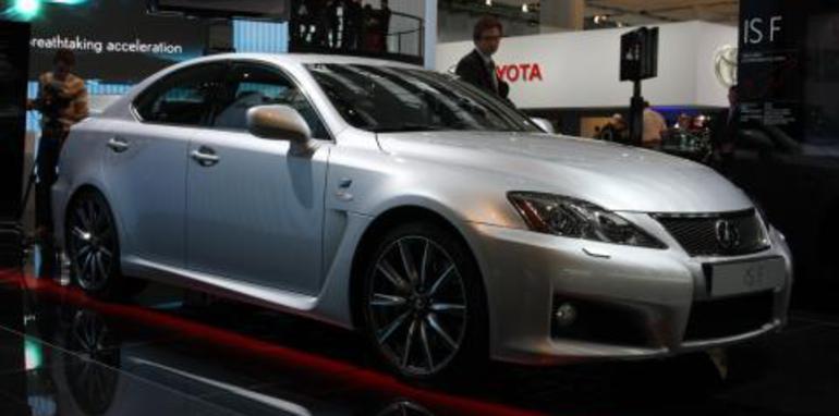 Lexus IS-F Frankfurt Motor Show
