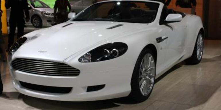 Aston Martin DB9 Volante Frankfurt Motor Show