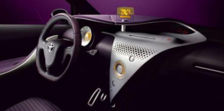 Toyota iQ Concept Dashboard