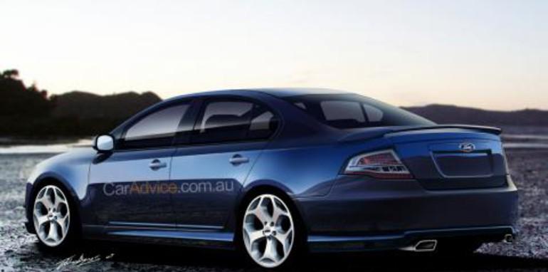 2008 Ford Falcon 'Orion' CGI
