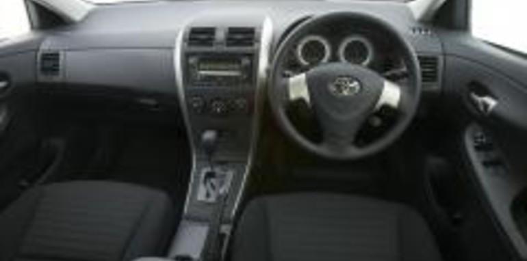Toyota Corolla Ascent Sedan Interior