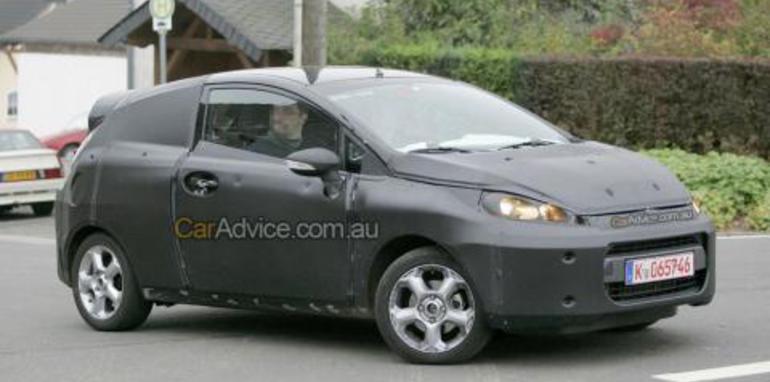2008 Ford Fiesta Spy Photos