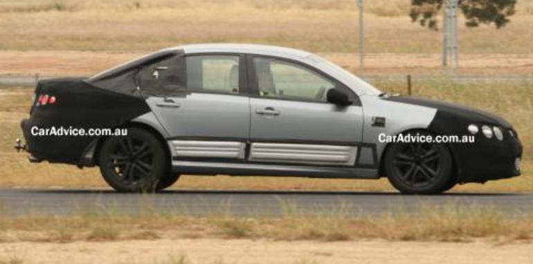 Ford Falcon Orion Spy Photos