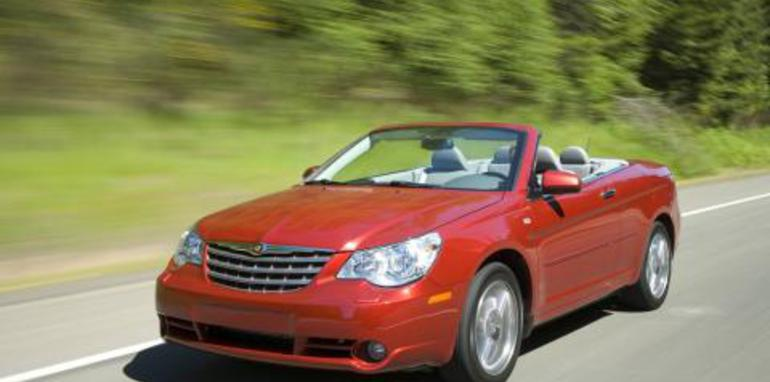 Chrysler announces pricing for Sebring Cabrio