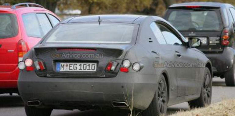 2009 Mercedes-Benz CLK spy photos