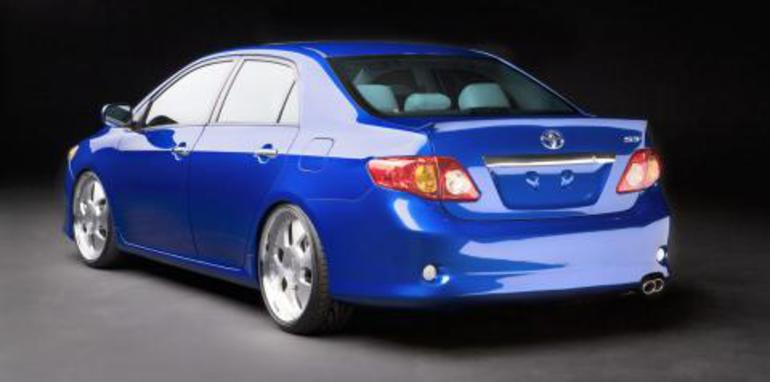 Supercharged Toyota Corolla S3