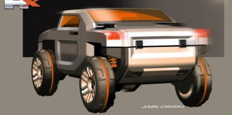 HUMMER HX Concept - H4?