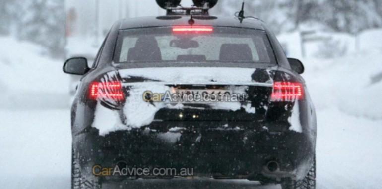 2009 Audi A6 spy photos