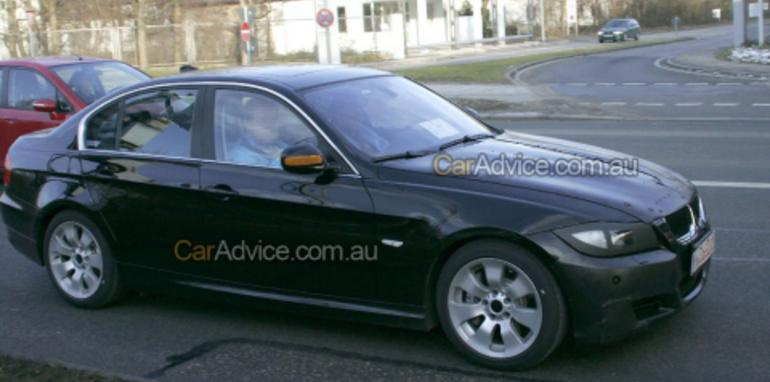 BMW 3-Series facelift spy photos