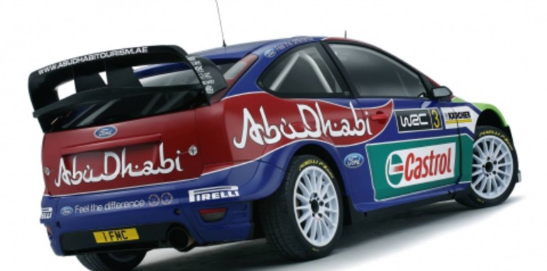 2008 Ford Focus RS WRC