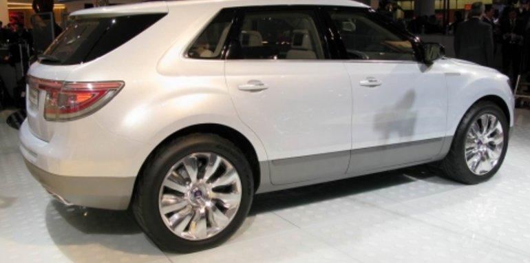 Saab 9-4X BioPower Concept - 2008 Detroit Auto Show