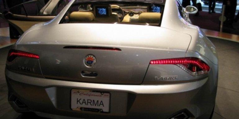 Fisker Karma - 2008 Detroit Auto Show