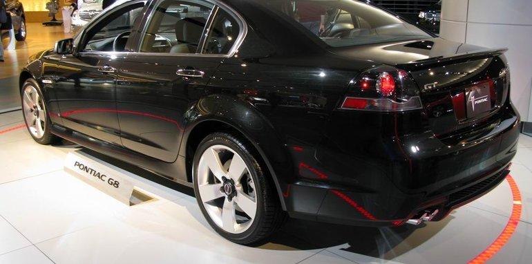 Pontiac G8 Gt 2008 Detroit Auto Show
