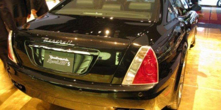 Maserati Quattroporte Sport GT S - 2008 Detroit Auto Show