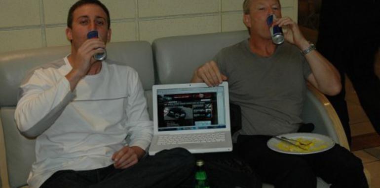 Anthony n Karl Red Bull