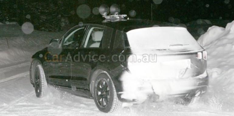2008 Audi Q5 spy shots