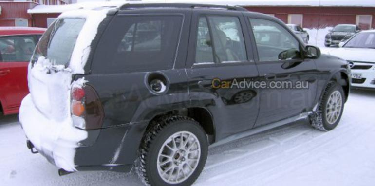 Saab 9-4X spy photos