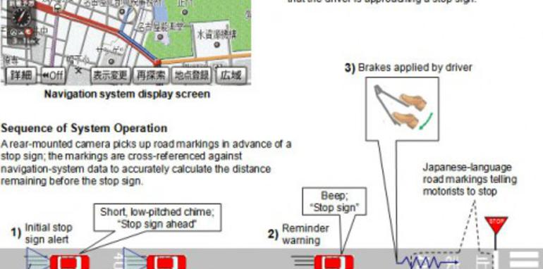 Toyota implementing GPS brake-assist
