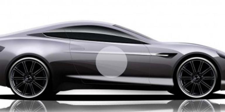 Aston Martin V8 Vantage GT design study