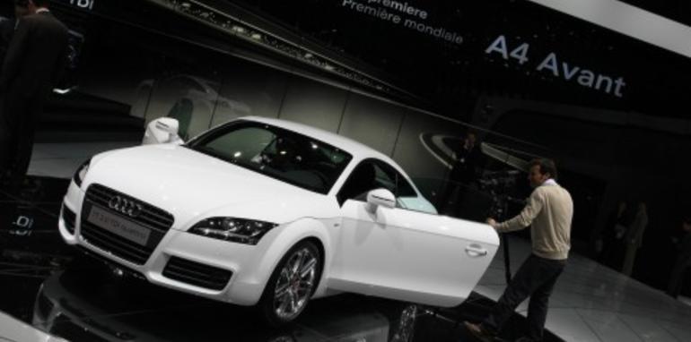 Audi stand 2008 Geneva Motor Show