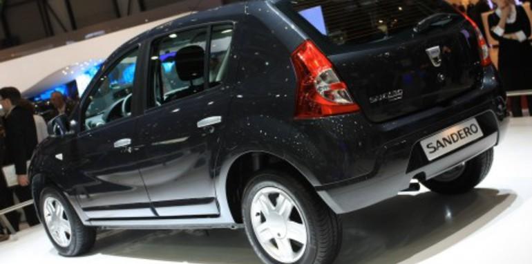 Dacia Sandero 2008 Geneva Motor Show