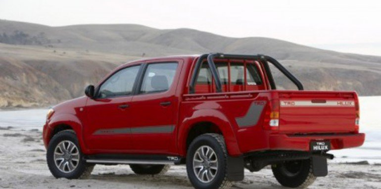 2008 TRD HiLux specifications