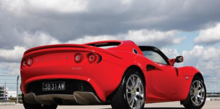 2008 Supercharged Lotus Elise SC