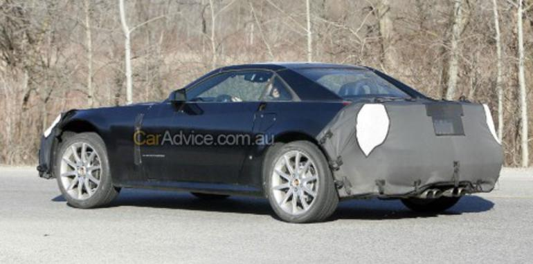 2009 Cadillac Xlr V Series Spy Photos