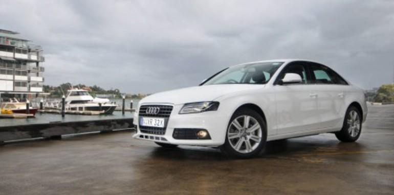 2008 Audi A4 range