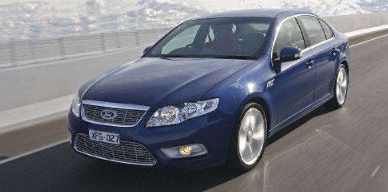 2008 Ford FG Falcon range overview