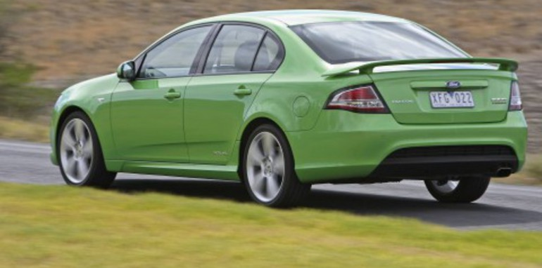 2008 Ford FG Falcon XR6 Turbo