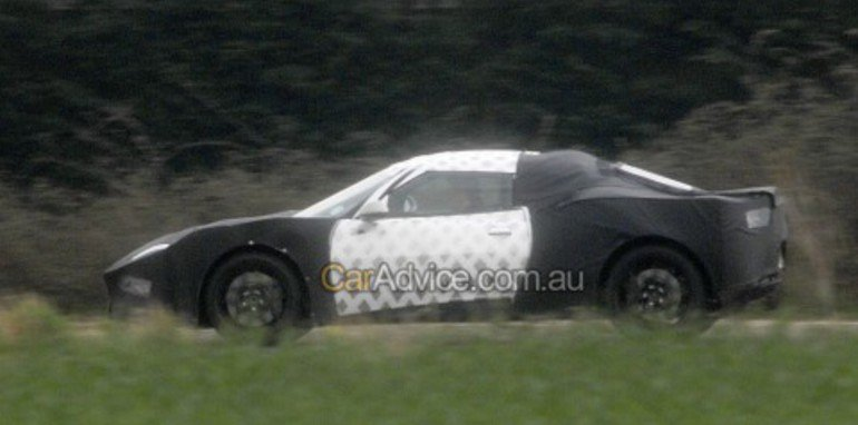 Lotus 'Eagle' Spy Photos