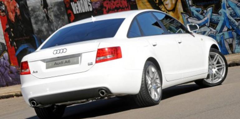 2008 Audi A6 White Edition