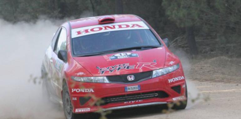 Honda Civic Type R Rally Debut