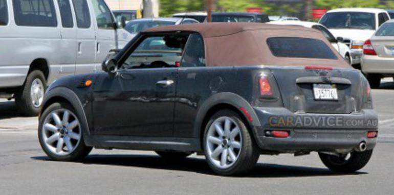 MINI Cooper Cabriolet spied