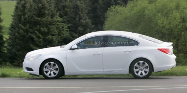 2009 Opel Insignia Fastback spied