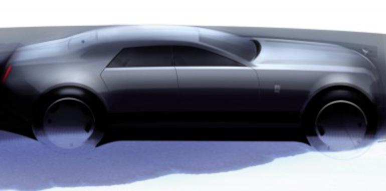 Rolls Royce RR4 sedan