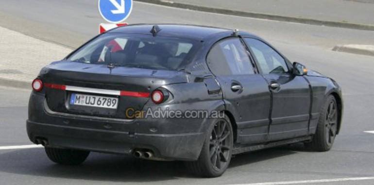 2009 BMW 5-series spy photos