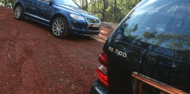 Volkswagen Touareg R50 vs Mercedes Benz ML500