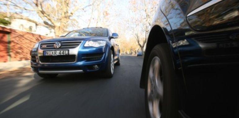 Volkswagen Touareg R50 and Mercedes Benz ML500