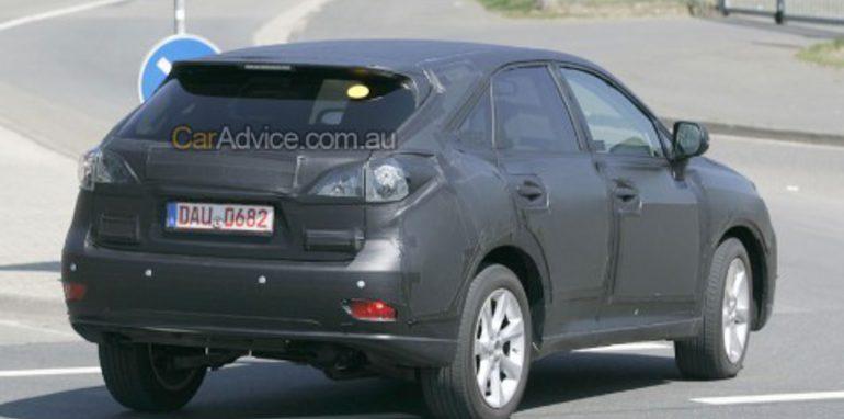 2009 Lexus RX spy photos