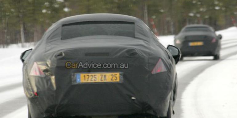2009 Peugeot 308 CC spy photos