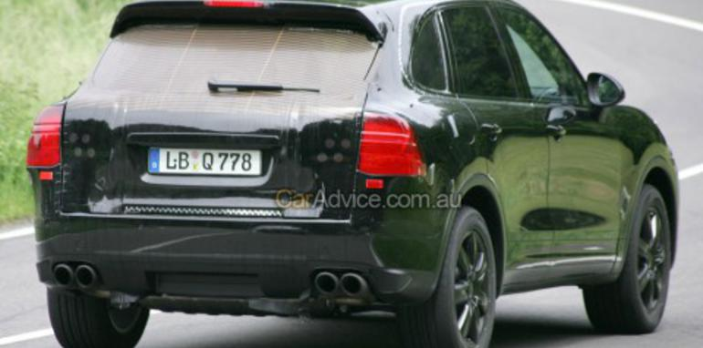 2010 Porsche Cayenne spy photos